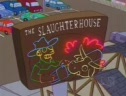 The Simpsons Visit The Slaughter House